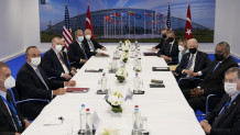 Η συνάντηση Ερντογάν - Μπάιντεν και των επιτελείων τους