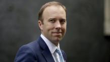 υπουργός Υγείας της Μεγάλης Βρετανίας Ματ Χάνκοκ