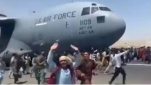 Αφγανιστάν: Άνθρωποι Κρέμονται Από Τα Αεροπλάνα