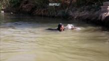 85χρονη κολυμβήτρια