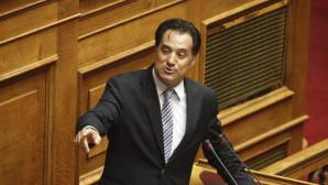 Άδωνις Γεωργιάδης στη Βουλή