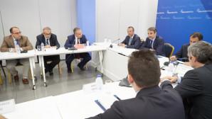 Ο Μητσοτάκης με τη Συντονιστική Επιτροπή των Δικηγορικών Συλλόγων