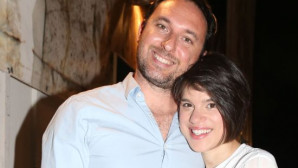 H Monika με τον σύζυγό της στο Ηρώδειο
