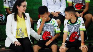 Οι δηλώσεις των 12  μικρών αγριόχοιρων στην Ταϊλάνδη