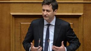 O αναπληρωτής υπουργός Οικονομικών Γιώργος Χουλιαράκης