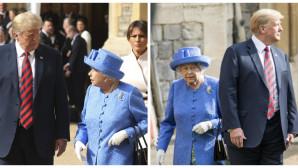 Η βασίλισσα Ελισάβετ με τον Τραμπ