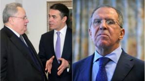 «Καυτό» τρίγωνο Ελλάδας-Ρωσίας-Σκοπίων με φόντο τη συμφωνία