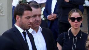 Νομικού - Θεοδωρίδης στην κηδεία του Σωκράτη Κόκκαλη Junior