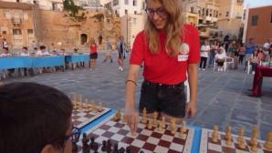 Η Σταυρούλα Τσολακίδου στον αγώνα της στα Χανιά