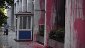 Ρουβίκωνας επίθεση υπουργείο Εξωτερικών 1