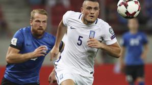 Ο Κυριάκος Παπαδόπουλος με την Εθνική.