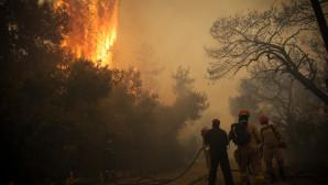 Πυροσβέστες δίνουν μάχη με την πύρινη λαίλαπα