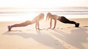 Γυμναστική στην άμμο