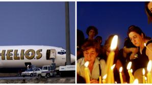 Το αεροπλάνο της Helios που συνετρίβη στο Γραμματικό το 2009