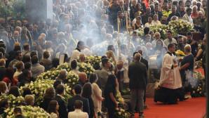 Κηδεία θυμάτων γέφυρας στη Γένοβα