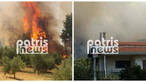 Πυρκαγιά Αμαλιάδα