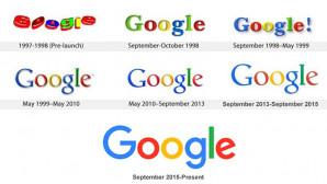 Τα logo της Google αυτά τα 20 χρόνια