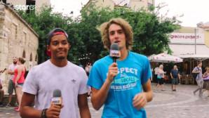 Τσιτσιπάς και Κάραλης σε ρόλο δημοσιογράφων στο Μοναστηράκι