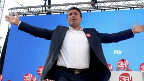 O Ζόραν Ζάεφ σε καμπάνια για το δημοψήφισμα