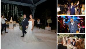 δεξίωση γάμος Αντώνης Ρέμος Υβόννη Μπόσνιακ