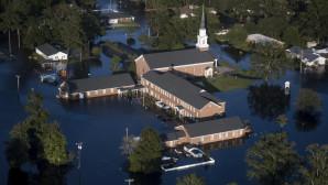 Πλημμύρες από τον τυφώνα Φλόρενς