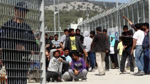 Hot spot με πρόσφυγες