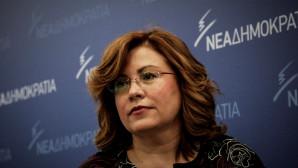 Η ευρωβουλευτής και εκπρόσωπος Τύπου της ΝΔ Μαρία Σπυράκη