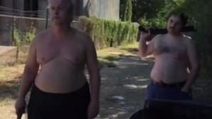 Οι δράστες με το όπλο στα χέρια