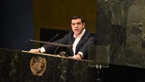 O Αλέξης Τσίπρας σε ομιλία στον ΟΗΕ