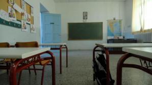 Θρανία σε σχολείο