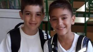 Οι δύο 11χρονοι που απήχθησαν στην Κύπρο