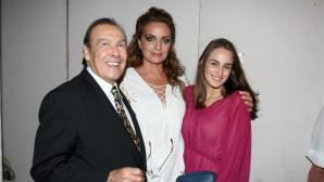 Με την κόρη τους Μαρία, Βοσκόπουλος και Γκερέκου