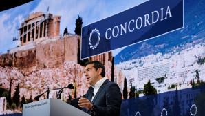 O Αλέξης Τσίπρας στο Concordia 2018