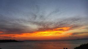 Ηλιοβασίλεμα στο Καβούρι
