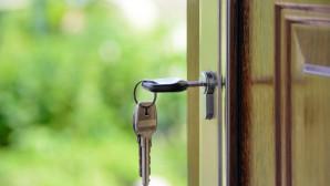 Κλειδί σε πόρτα