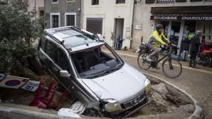 Πλημμύρες στη νότια Γαλλία