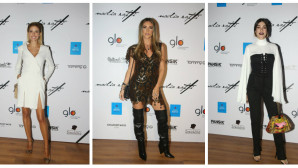 Λαμπερές εμφανίσεις σε επίδειξη μόδας-Δείτε τι φόρεσαν