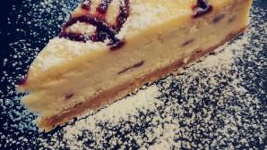 κέικ με βύσσινο