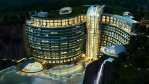 Ξενοδοχείο σε λατομείο