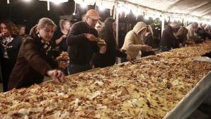 Ρεκόρ με το μεγαλύτερο πιάτο με nachos στο Μεξικό
