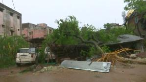 Κυκλώνας Gaja στην Ινδία
