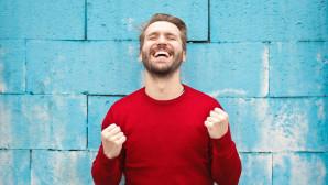 άνδρας χαρούμενος