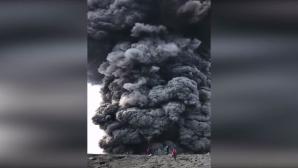 Έκρηξη του Ηφαιστείου Ebeko στη Ρωσία