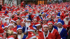 Άγιοι Βασίληδες τρέχουν στο Λίβερπουλ