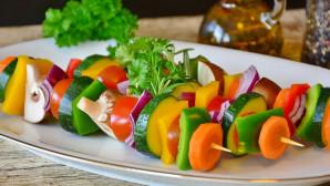 Σουβλάκι από λαχανικά