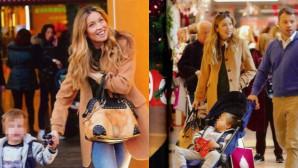 Μαριέττα Χρουσαλά: Χριστουγεννιάτικα ψώνια με τον γιο και τον αδελφό της!