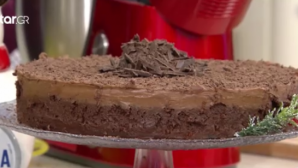 σοκολατένιο cheesecake