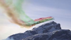 Οι Frecce Tricolori σε εκπληκτικές επιδείξεις πάνω από τις Άλπεις