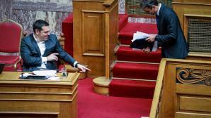 Τσίπρας και Μητσοτάκης στη Βουλή για την ψήφο εμπιστοσύνης