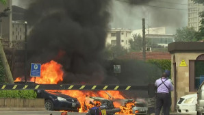 πυρκαγιά σε συγκρότημα ξενοδοχείου στην Κένυα